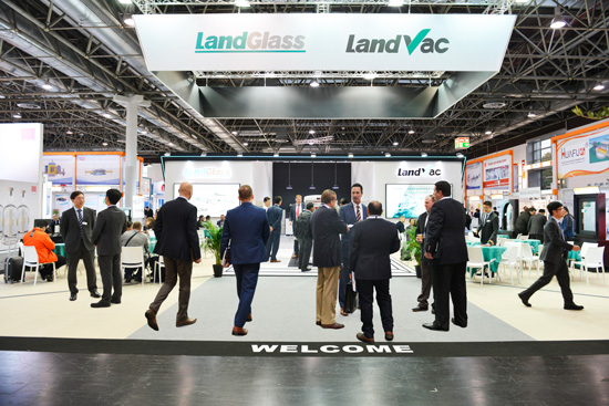 LandGlass Shining at GLASSTEC 2018