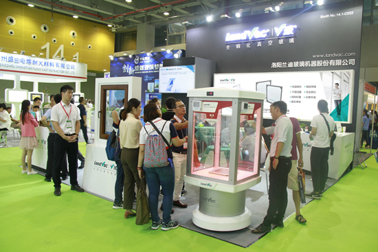Showcasing of LandVac and Window & Door System at CGE 2018