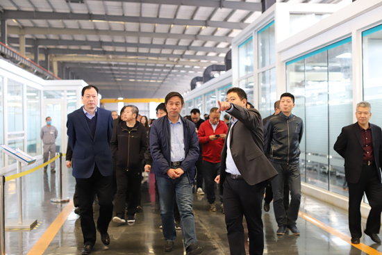 Chairman of the Jincheng Federation of Industry and Commerce Visited LandGlass