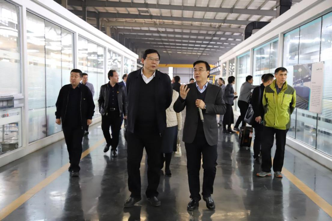 Huaizhang Liu, a Member of the Party's Leading Team of the Provincial Market Supervision Bureau and His Associates Visited LandGlass