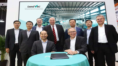 LandGlass Signs the Strategic Cooperation Agreement with Siemens